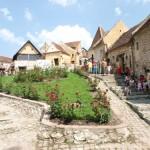 Turisti la Cetatea Rasnov
